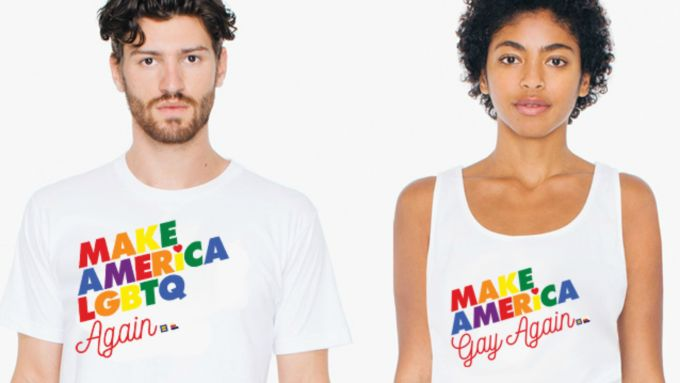 American Apparel Make America Gay Again