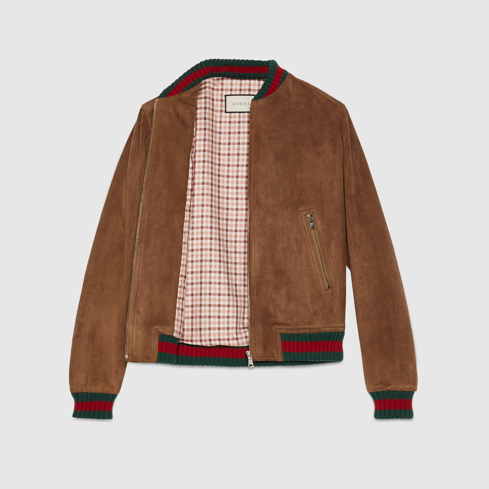 Gucci Suede Jacket Inside