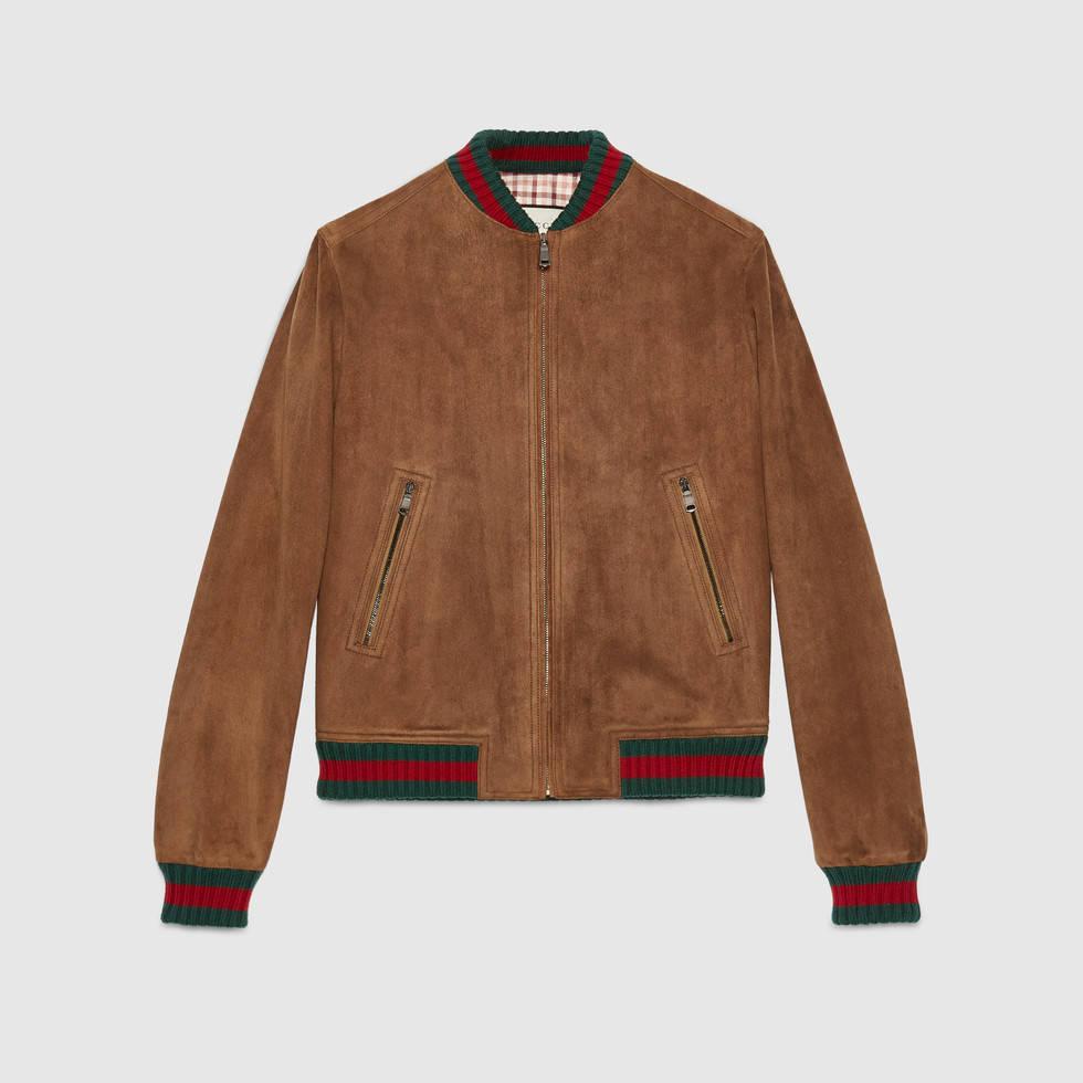 Gucci Suede Jacket