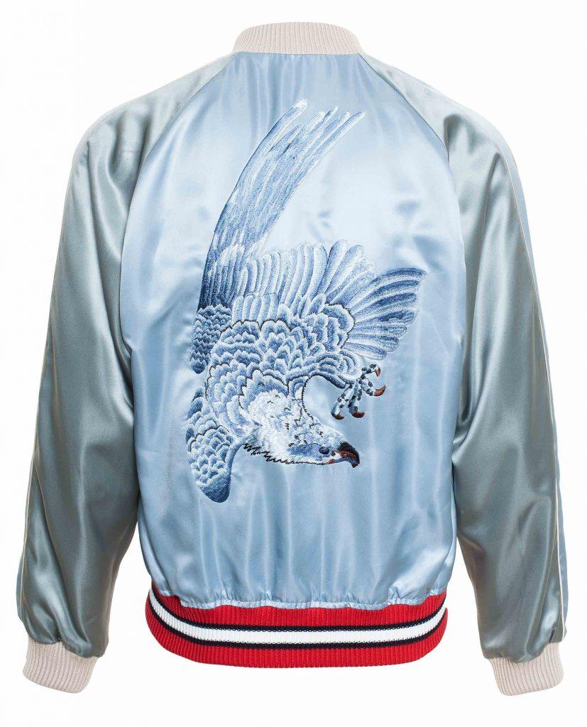 Gucci Satin Jacket Back