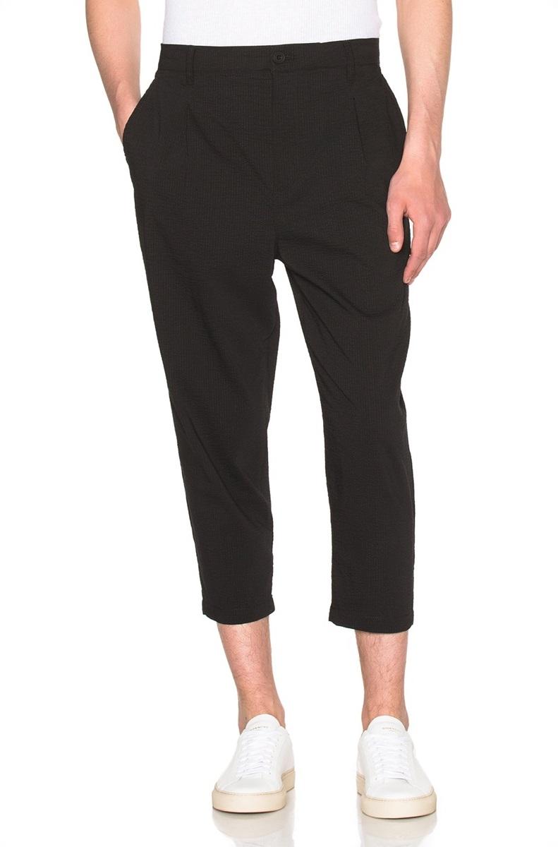 Helmut-Lang-Micro-Seersucker-Cropped-Trousers