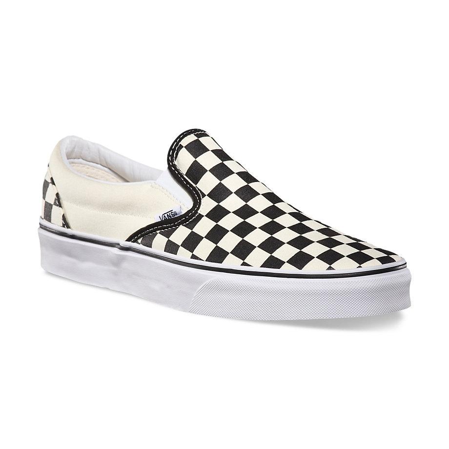 Vans checkered print
