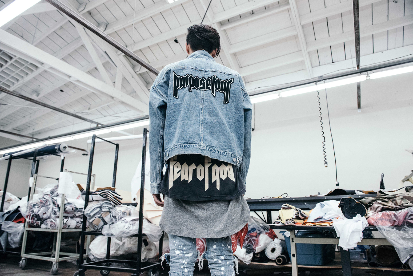 Fear of God x Purpose Tour capsule collection available at Barneys New York on July 16. Photograph © Diane Abapo.