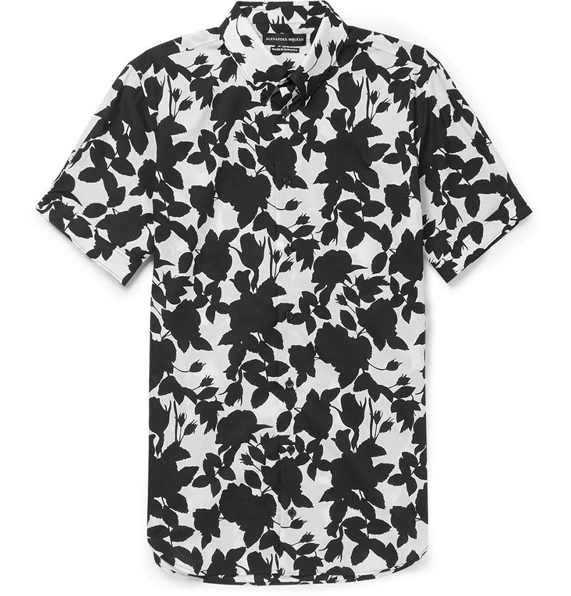 Alexander-McQueen-brad-slim-fit-floral-shirt