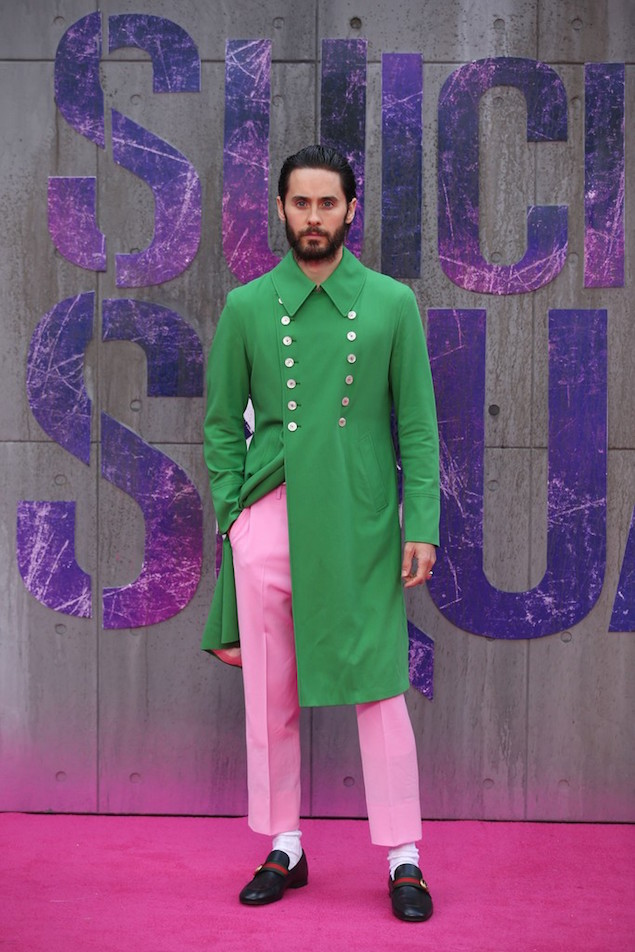 Jared-Leto-wearing-Gucci-Spring-Summer-2017-Collection-at-Suicide-Squad-European-Premiere