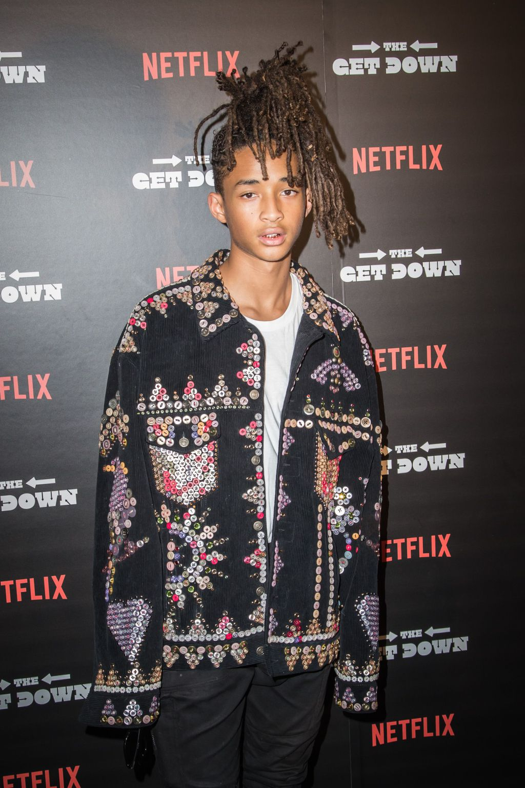 Mandatory Credit: Photo by Joe Russo/REX/Shutterstock (5827792am) Jaden Smith Netflix 'The Get Down' series screening,   New York,   USA - 11 Aug 2016