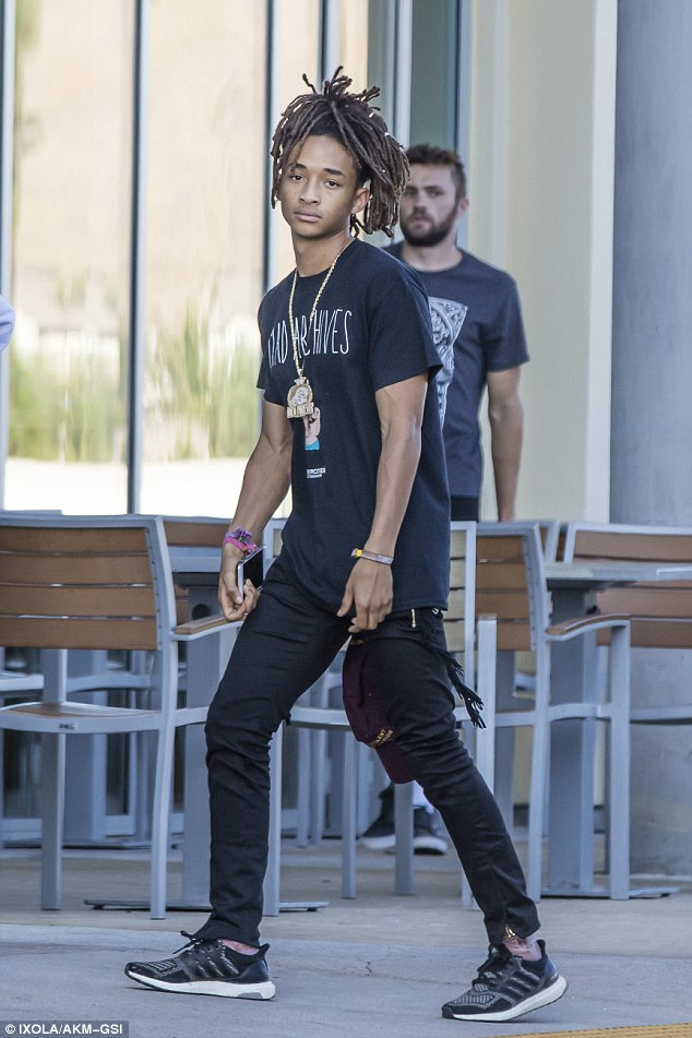 Spotted: Jaden Smith Wears UNDERCOVER T
