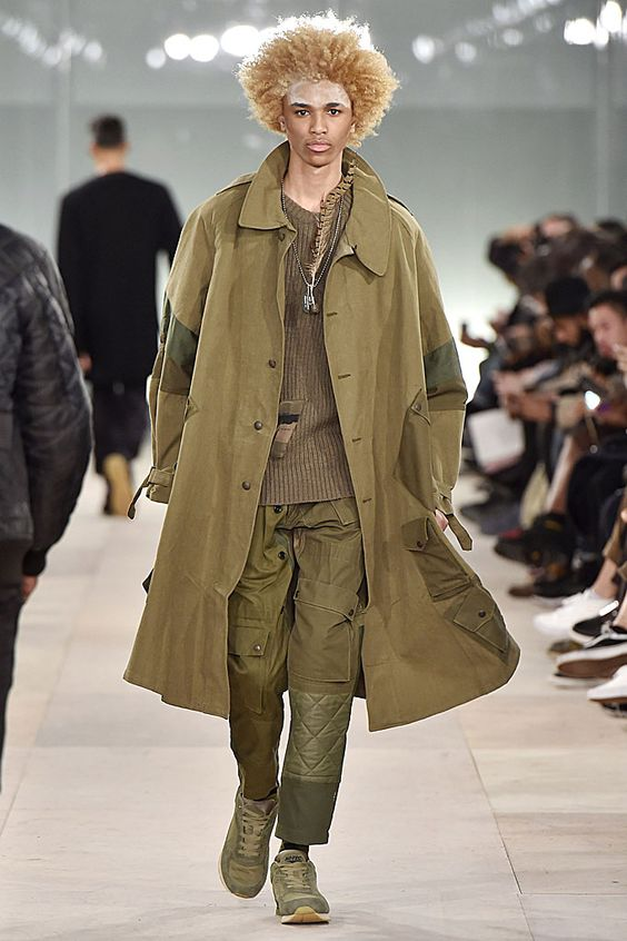 Maharishi Fall Winter 2016 London Menswear Fashion Week Copyright Catwalking.com 'One Time Only' Publication Editorial Use Only