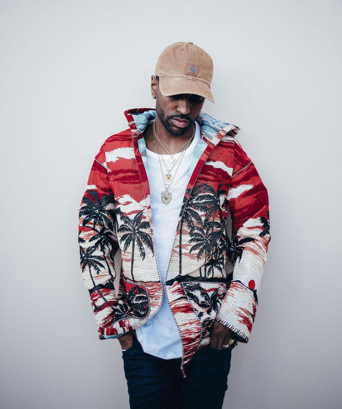 Big-Sean-Saint-Laurent-jacket-Carhartt-hat