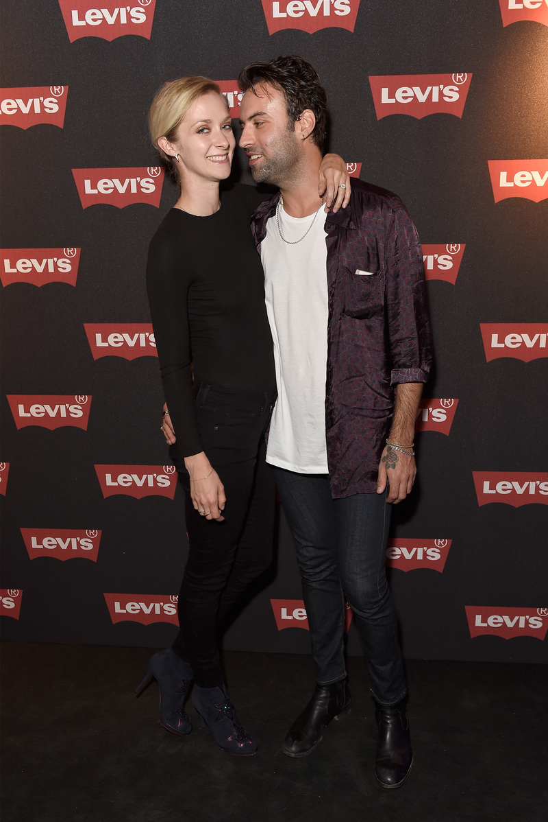 LONDON, ENGLAND - SEPTEMBER 06: Portia Freeman and Pete Denton attend Levi's brand announcement of the partnership with grime artist Skepta to launch the Levi's music project #Supportmusic and celebrate its partnership with the V&A, with an exclusive performance from Skepta at the Victoria and Albert Museum on September 6, 2016 in London, England. (Photo by David M. Benett/Dave Benett/Getty Images for Levi's) *** Local Caption *** Portia Freeman;Pete Denton