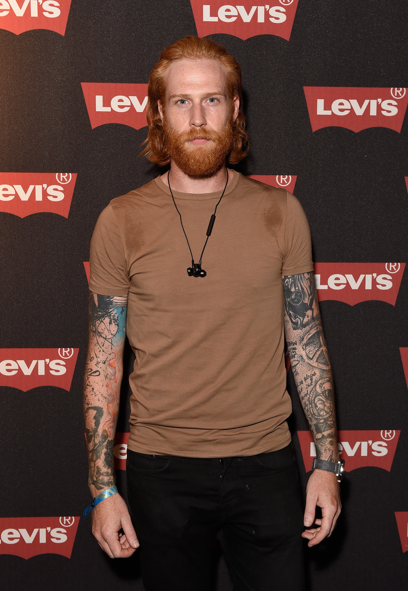 LONDON, ENGLAND - SEPTEMBER 06: Gwilym Pugh attends Levi's brand announcement of the partnership with grime artist Skepta to launch the Levi's music project #Supportmusic and celebrate its partnership with the V&A, with an exclusive performance from Skepta at the Victoria and Albert Museum on September 6, 2016 in London, England. (Photo by David M. Benett/Dave Benett/Getty Images for Levi's) *** Local Caption *** Gwilym Pugh