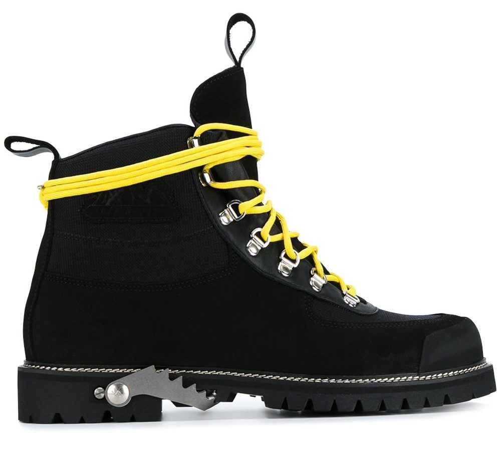 NO 1 OFF WHITE BOOTS