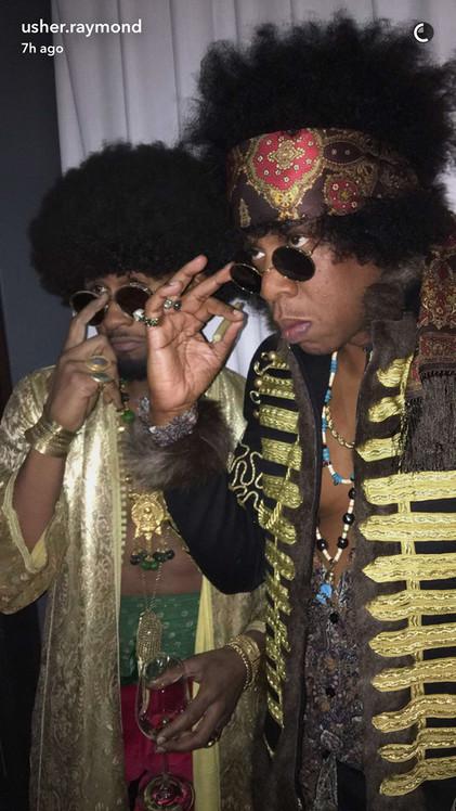 Jay Z & Usher