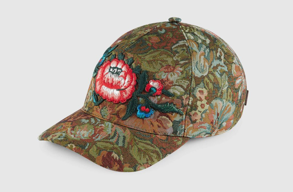 gucci-floral-brocade-baseball-hat