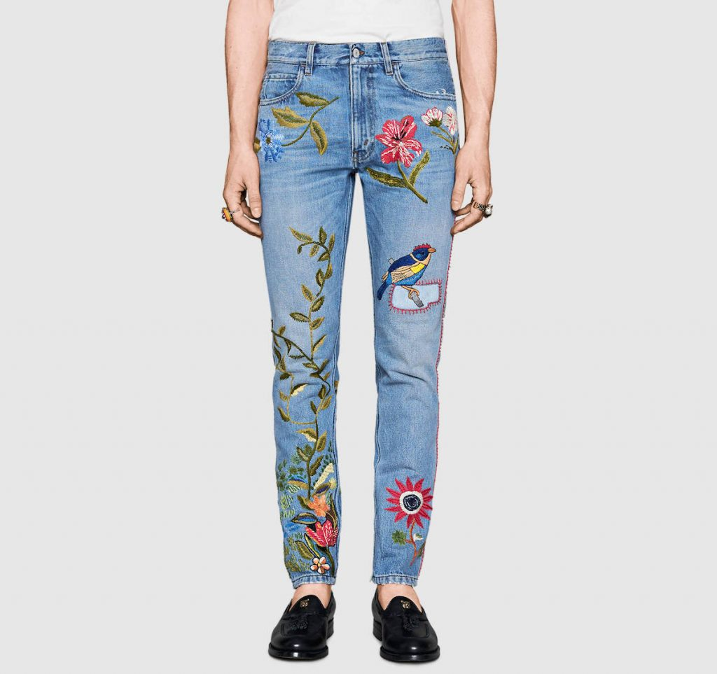 gucci-light-embroidered-denim-jeans-2