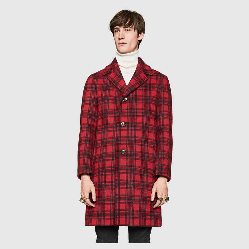 gucci-tartan-60s-red-trench-coat-2