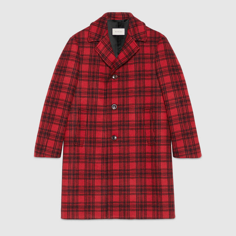 gucci-tartan-60s-red-trench-coat