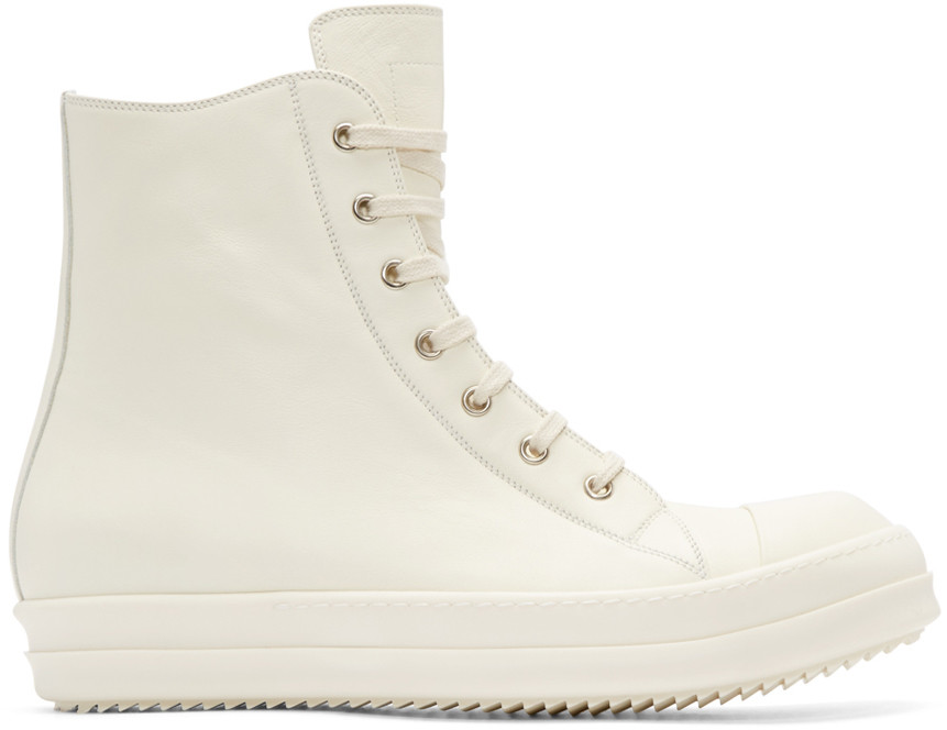rick-owens-white-high-top-sneakers-front