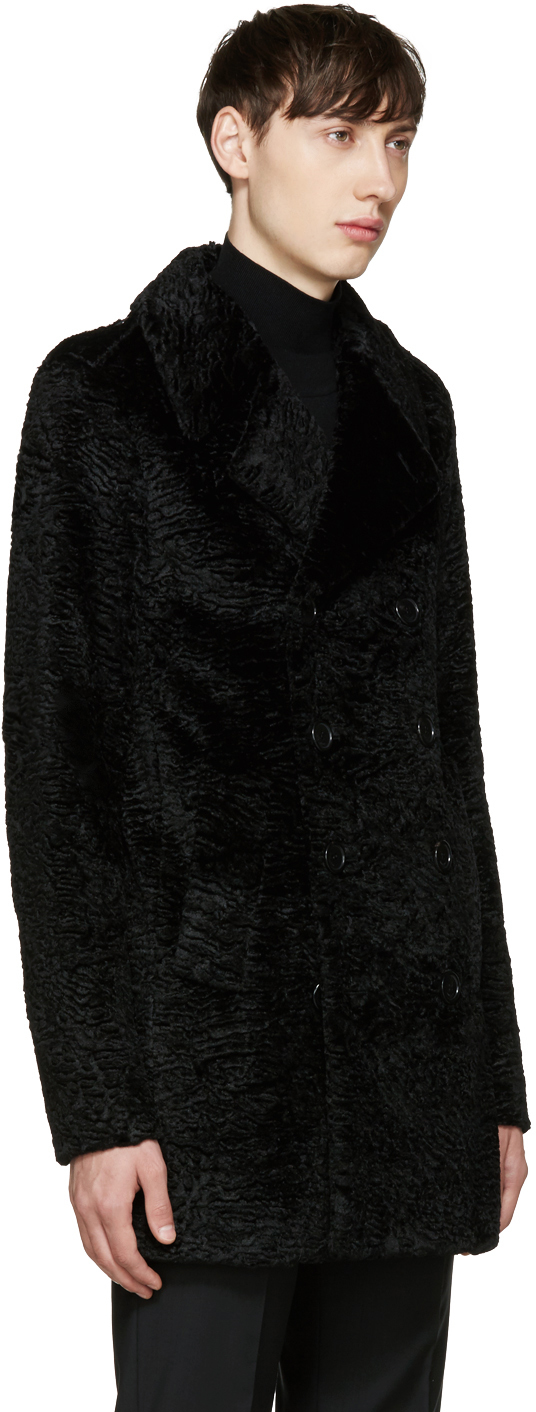 saint-laurent-black-faux-fur-peacoat-2
