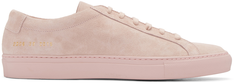 common-projects-pink-original-achilles-sneakers