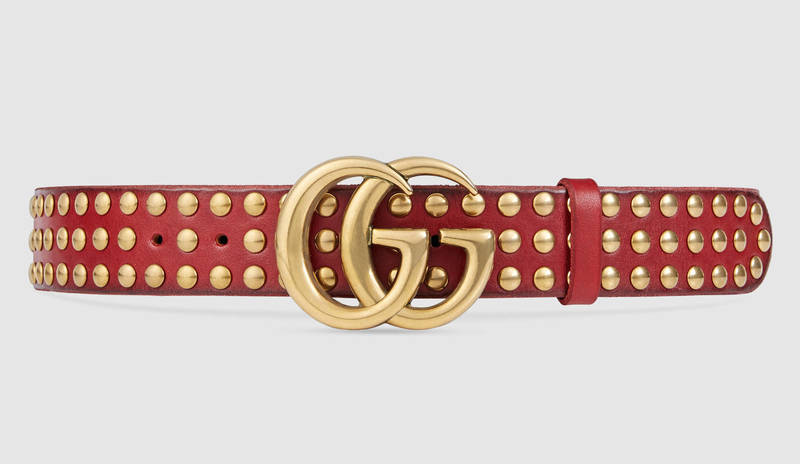 gucci-double-g-buckle-studded-red-belt