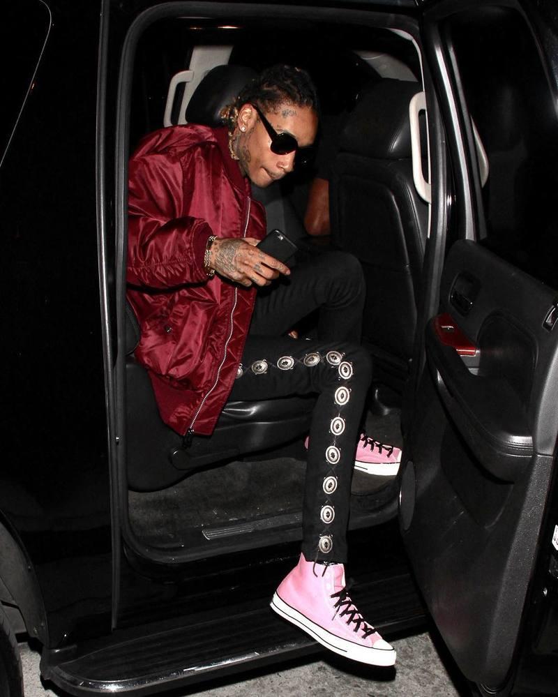wiz-khalifa-alpha-industries-jacket-saint-laurent-jeans-converse-sneakers-2