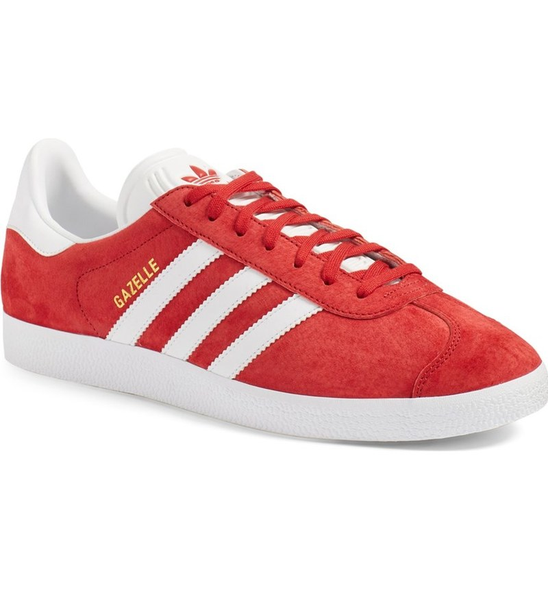 adidas-gazelle-red-suede-sneakers