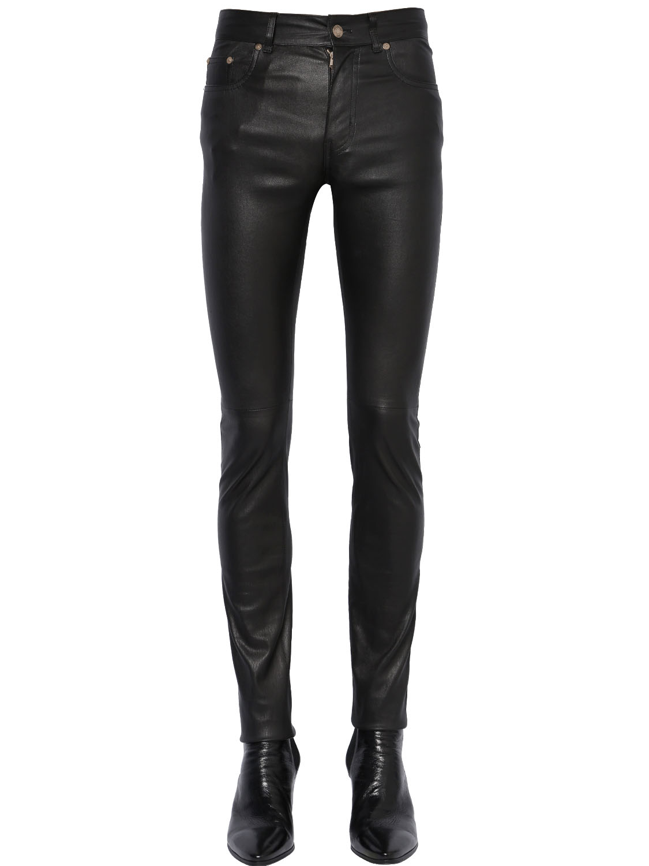 saint-laurent-15cm-skinny-stretch-faux-leather-jeans