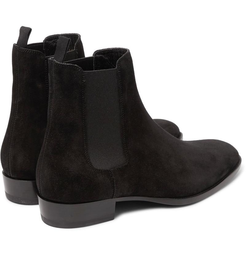 saint-laurent-black-suede-chelsea-boots-3