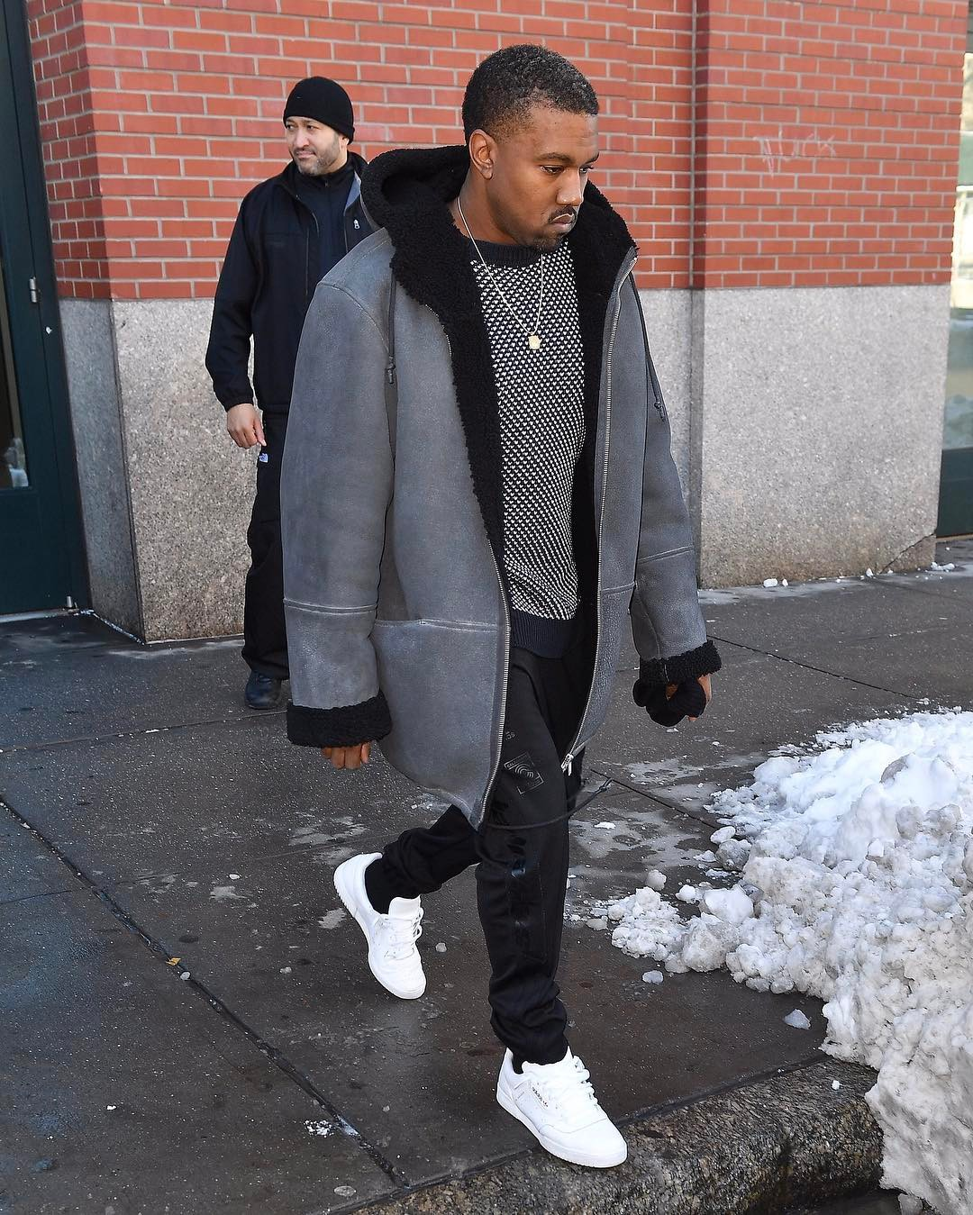 SPOTTED: Kanye West In Yeezy Season