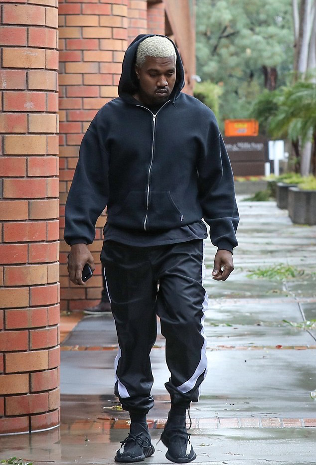 yeezy red stripe outfit