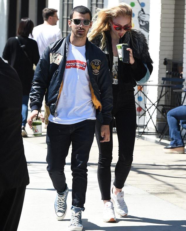 Joe Jonas in Ralph Lauren, Supreme x