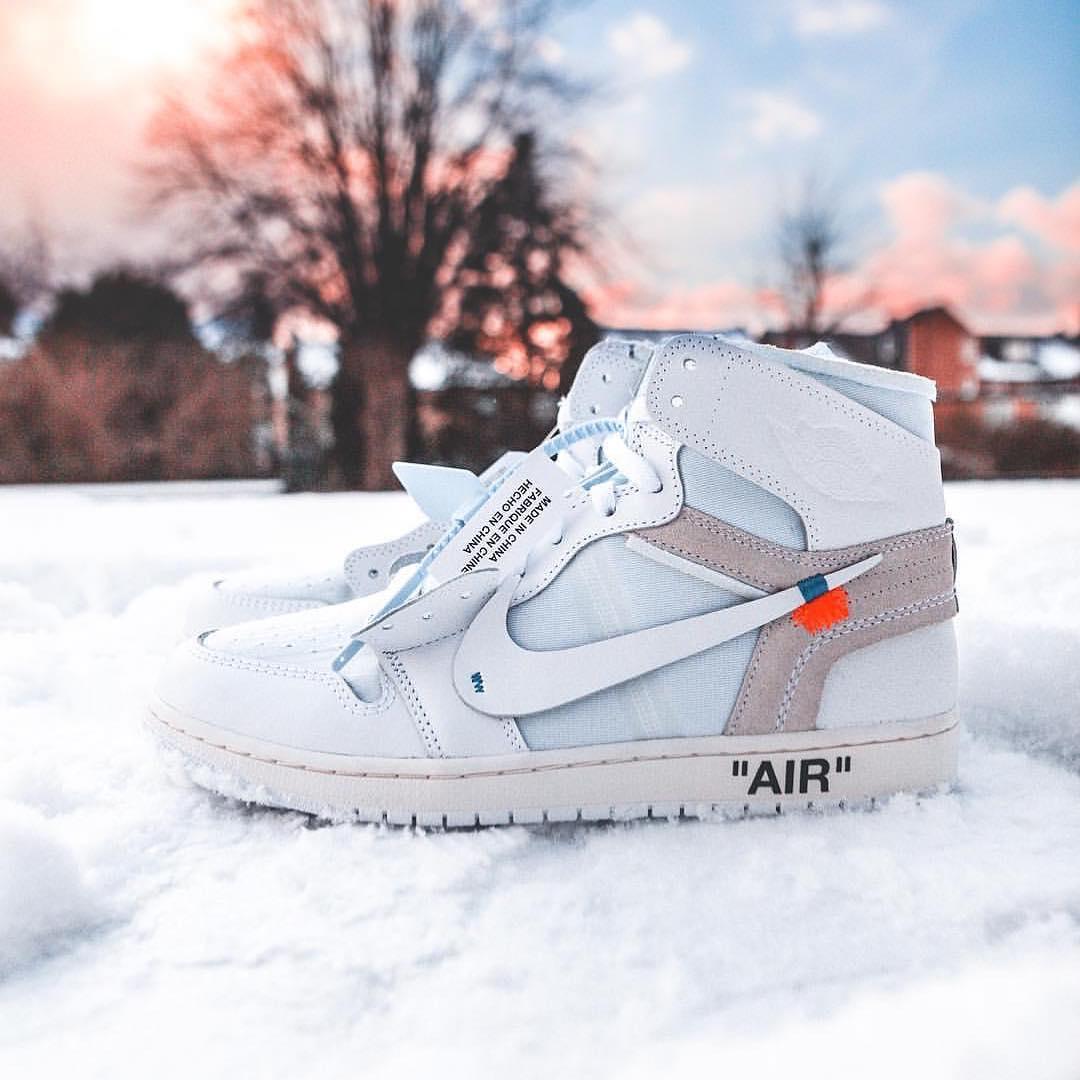 All-White Air Jordan 1 Euro Exclusive